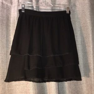 BCBGeneration Skirts - Black chiffon skirt